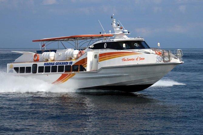 Traslado en bote desde Bali a las Islas Gili