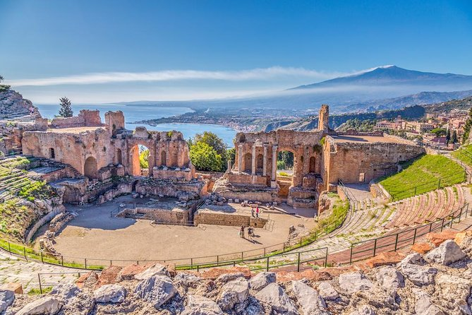 Mount Etna & Taormina Full Day Tour from Catania