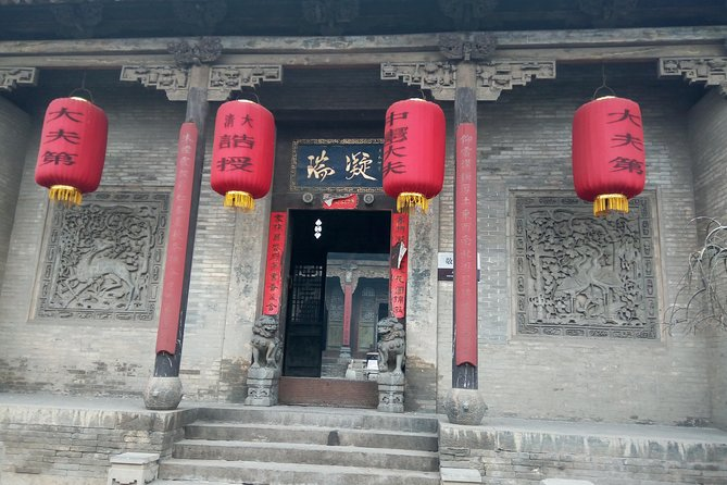 Private 2-Day Pingyao+Wang Family Compound+Shuanglin Temple Tour