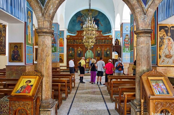 Private Tour: Madaba - Berg Nebo und Totes Meer