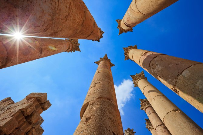 Half Day Tour to Jerash Roman Ruins