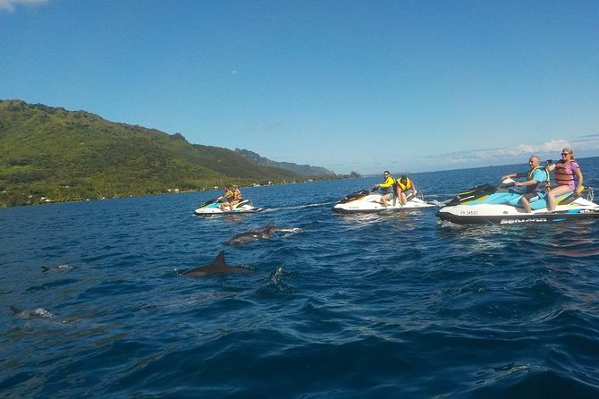 Moorea Jet Ski Tour, Lunch at Moorea Beach Cafe Next Door and 4WD Tour