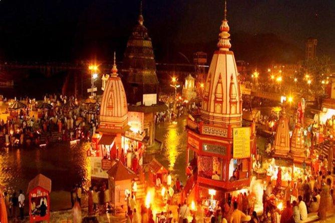 Excursion d'une journée à Haridwar et Rishikesh depuis Delhi