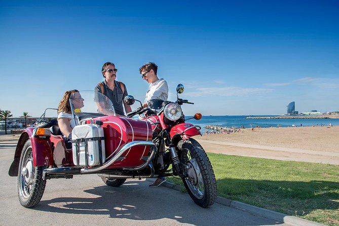 Privat Barcelona Tour av Retro Sidecar