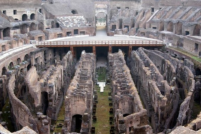 Colosseum Dungeons and Arena Tour from Rome