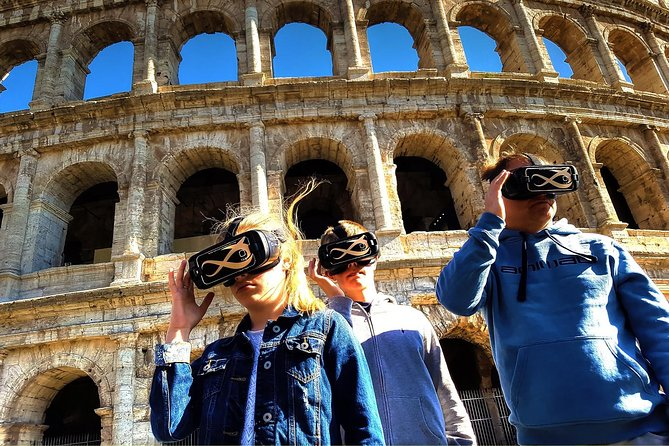 Colosseum Skip-the-line Self-Guided with 3D Virtual Reality (Official Product)