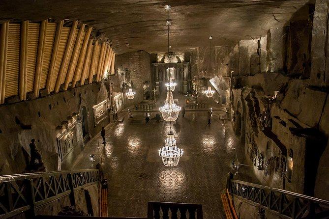 Wieliczka Salt Mine Guided Tour with Transport from Krakow