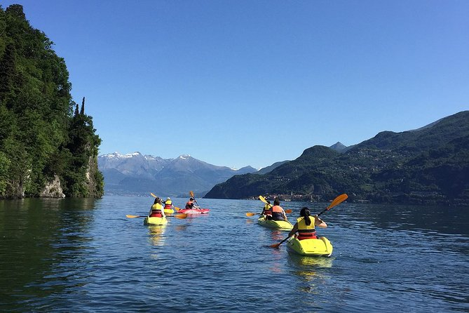 Lake Como Kayak Tour from Bellagio