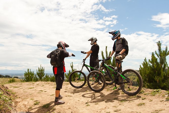 Beginner Downhill Mountain Biking Lesson in Christchurch