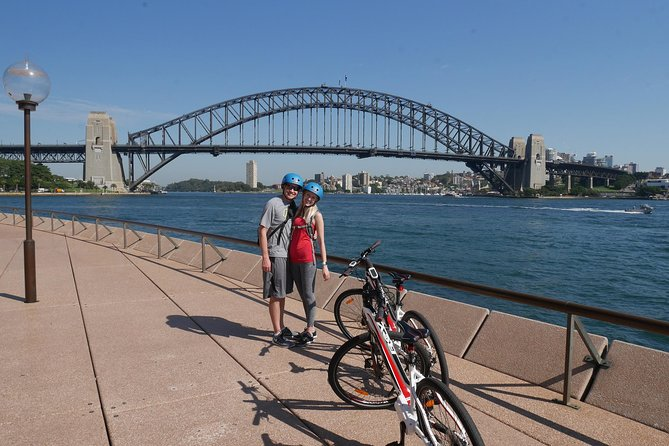 Sydney City Highlights Small Group Electric Bike Guided Tour