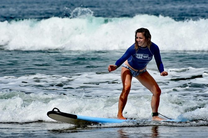 Private Surfing Lesson in Playa Grande for beginners and intermediates