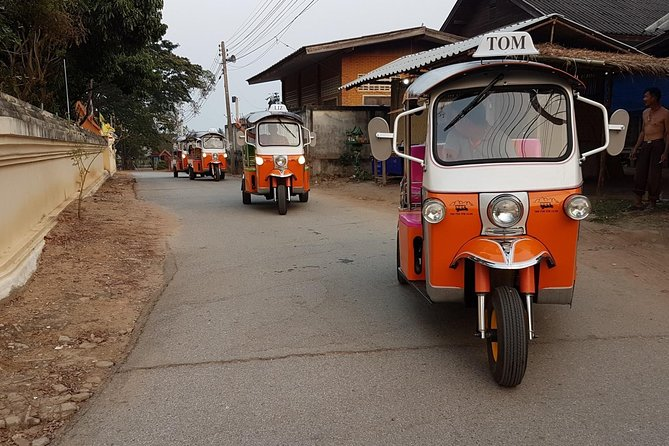 Full-Day Guided Tuk Tuk Chiang Mai Adventure and Rafting