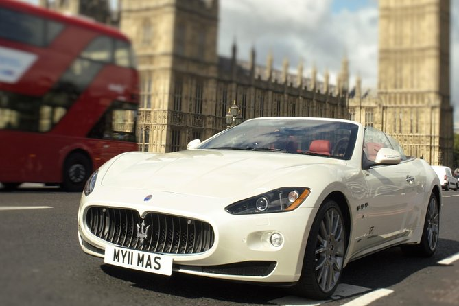 Luxury Driving Experience in London: Roar of the Maserati