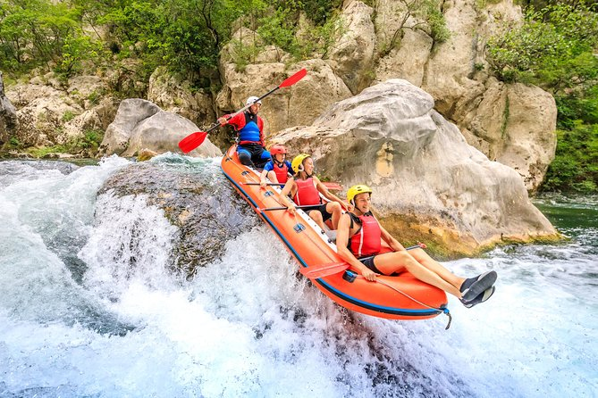 Extreme Rafting tour from Split
