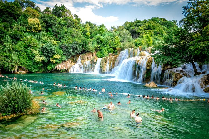 SMART Krka NP tour from Split