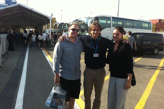 Transfer from Rome to Civitavecchia Port