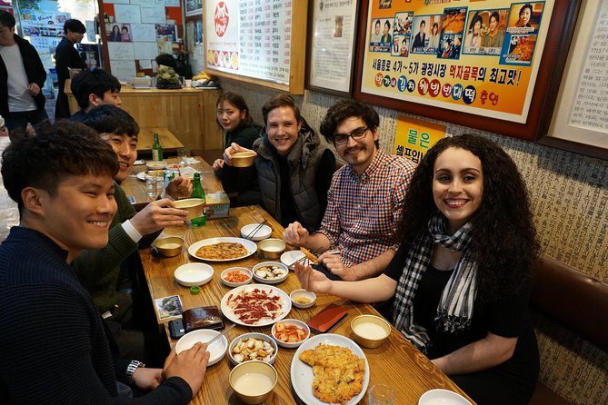 Authentic Food Tour in Seoul's Historic Jongro District