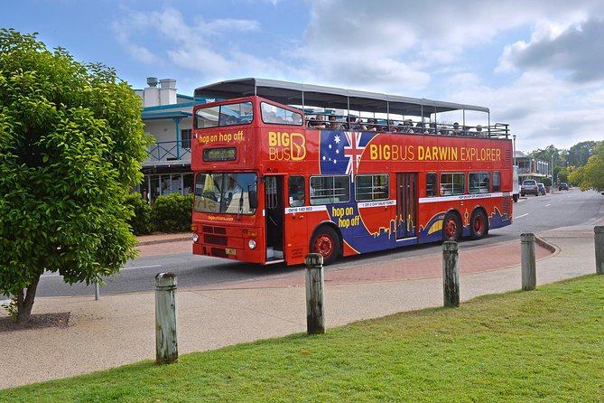 Darwin Shore Excursion: Hop-on Hop-off Bus Tour