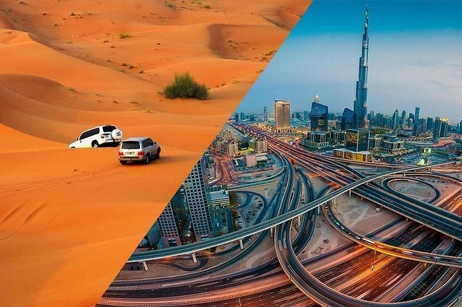 Dubai City and Desert Full-Day Tour with Dune Bash and Dinner