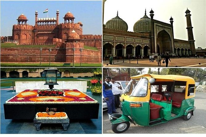Private Old Delhi Tour with Change of Palace Guard Ceremony