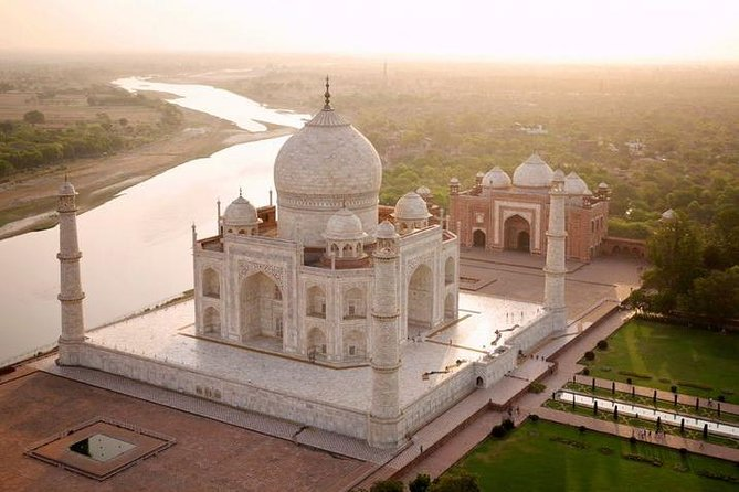 Sunrise and Sunset of Taj Mahal - A Private Full Day Tour in Agra