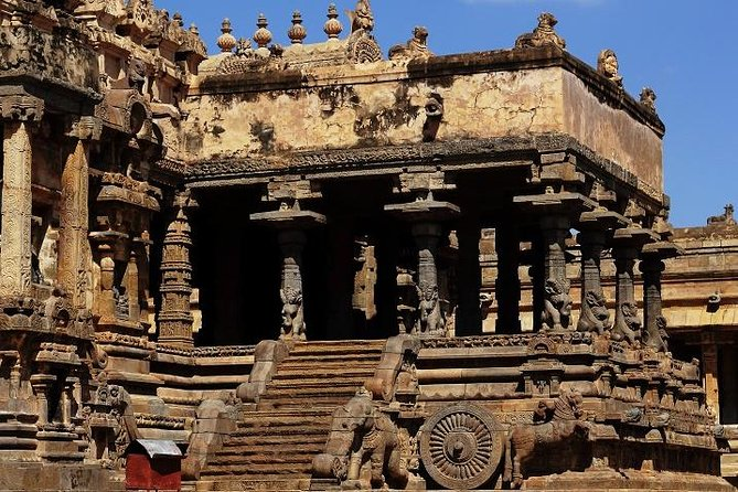 Private Guided Tour of Airavatesvara Temple from Kumbakonam with Lunch
