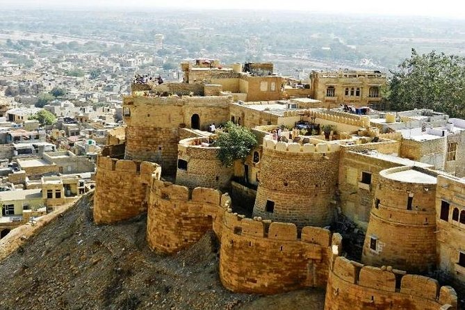Jaisalmer - A Private Tour Of The Fort And The Sam Sand Dunes