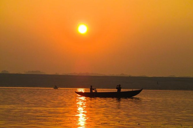 Ganges Sunrise Boat Trip: India's Holy Mother Ganga - A Sunrise Boat Excursion with Private Transfer
