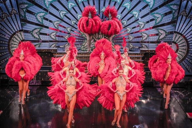 Paris Moulin Rouge Show with Exclusive VIP Seating & 4-Course Dinner