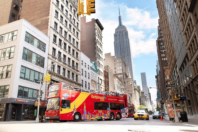 Take a hop-on hop-off tour of New York
