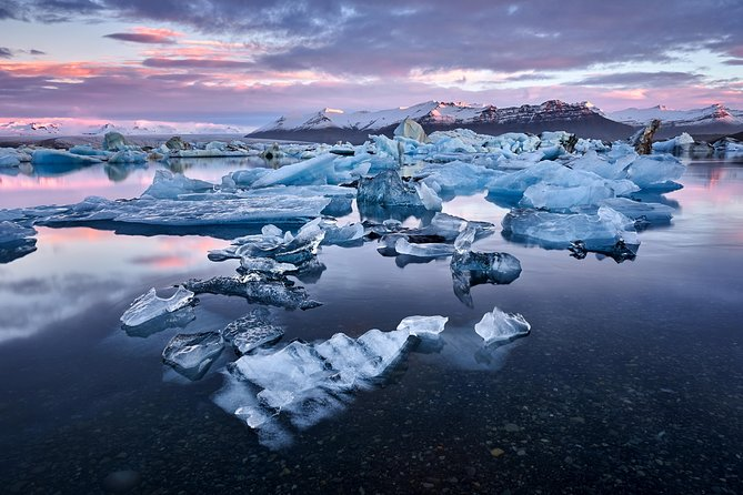 2 Day South Coast waterfalls, Jokulsarlon Glacier Lagoon and Glacier Hike