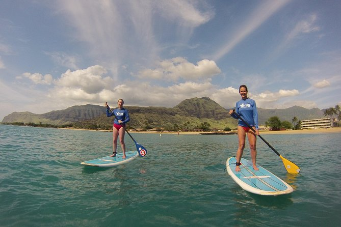 Surf HNL: Pokai Bay Stand-up Paddleboard Lesson (Ko'olina)