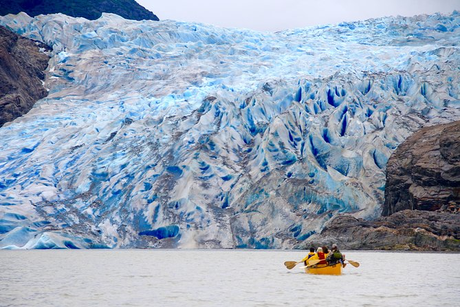 Juneau Shore Excursion: Mendenhall Glacier Canoe, Paddle, and Trek