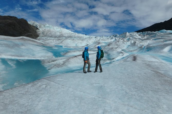 Standing on the Mendenhall Glacier - Ice World!