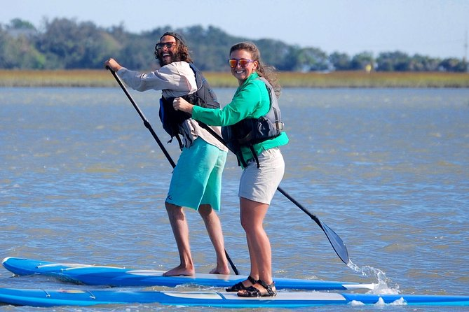 2-Hour Paddle Board Eco Tour of Charleston Lowcountry