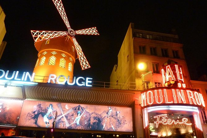Eiffel Tower, Paris Moulin Rouge Show and Seine River Cruise