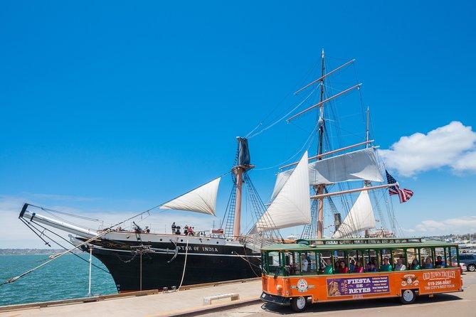 Excursión por la costa de San Diego: recorrido en tranvía con paradas libres por San Diego