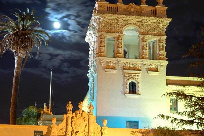 See San Diego at night