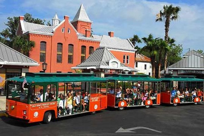 St. Augustine Hop-On Hop-Off Trolley Tour