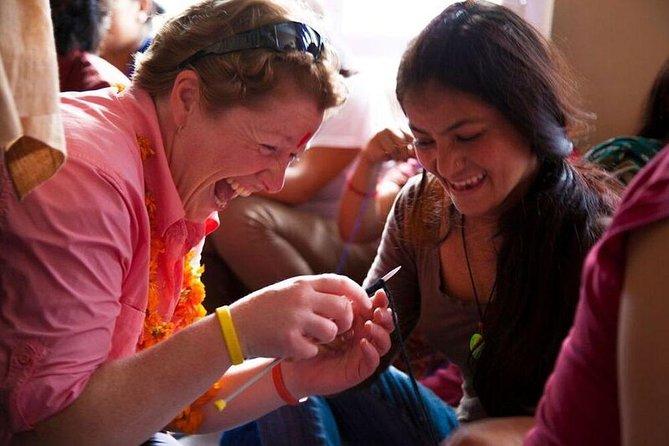 Halvdags Kathmandu Håndværk Workshop med syv kvinder
