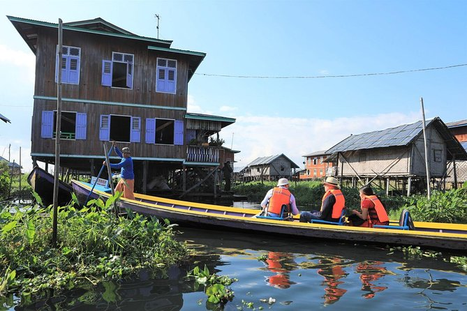 Inle by Boat: Full Day Lake Exploring Tour Including Floating Villages Visit