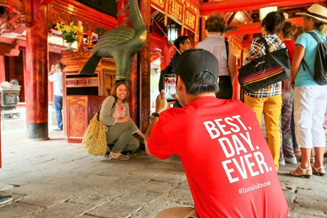Discover Hanoi's Morning Highlights Half Day Tour