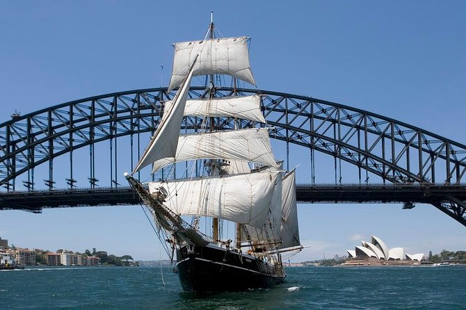 Australia Day Tall Ship's Lunch & Race on Sydney Harbour