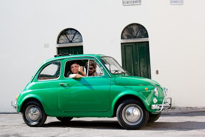 Small-Group Tuscany Tour by Vintage Fiat 500