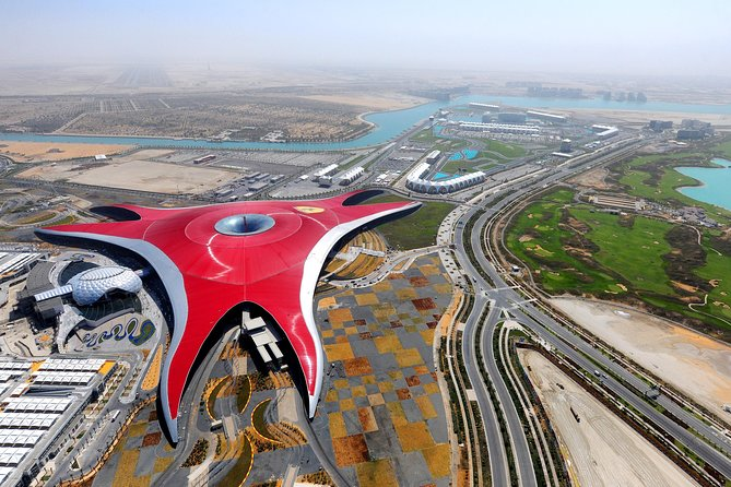 Full day Ferrari World Tour with private Transfer for 1 to 7 people