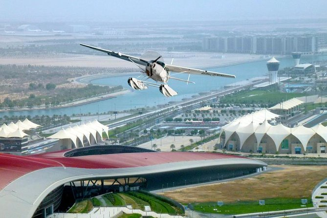 Seaplane Tour to Dubai from Abu Dhabi and Bateaux Dinner Cruise
