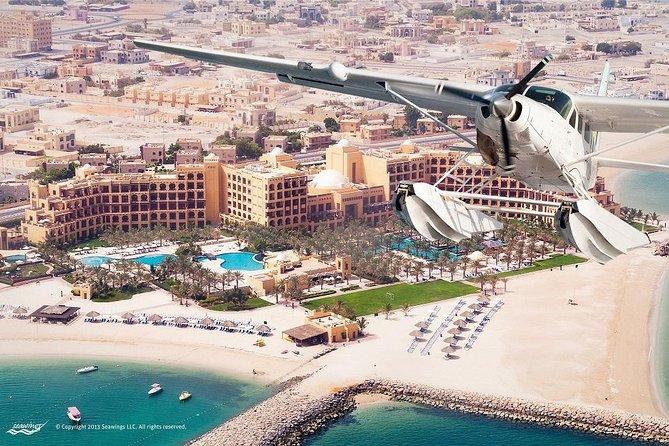 Seaplane Tour till Dubai från Ras Al Khaimah med Bateaux Dinner Cruise