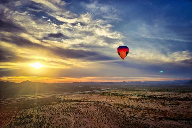 Morning Hot Air Balloon Flight Over Phoenix
