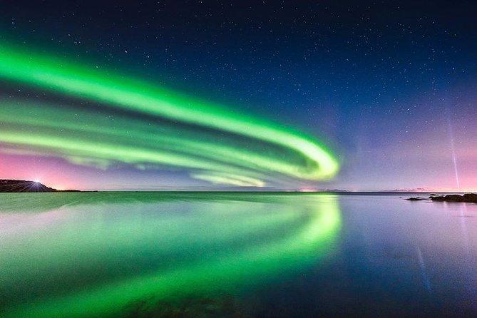 Crucero en barco por la aurora boreal desde Reikiavik