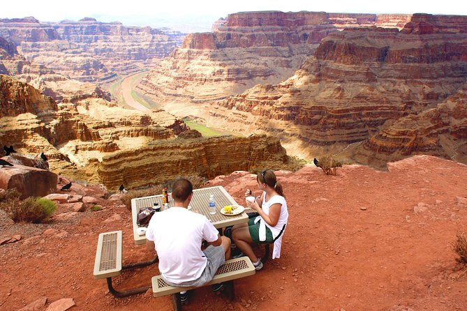Romantic lunch on the rim of the Canyon